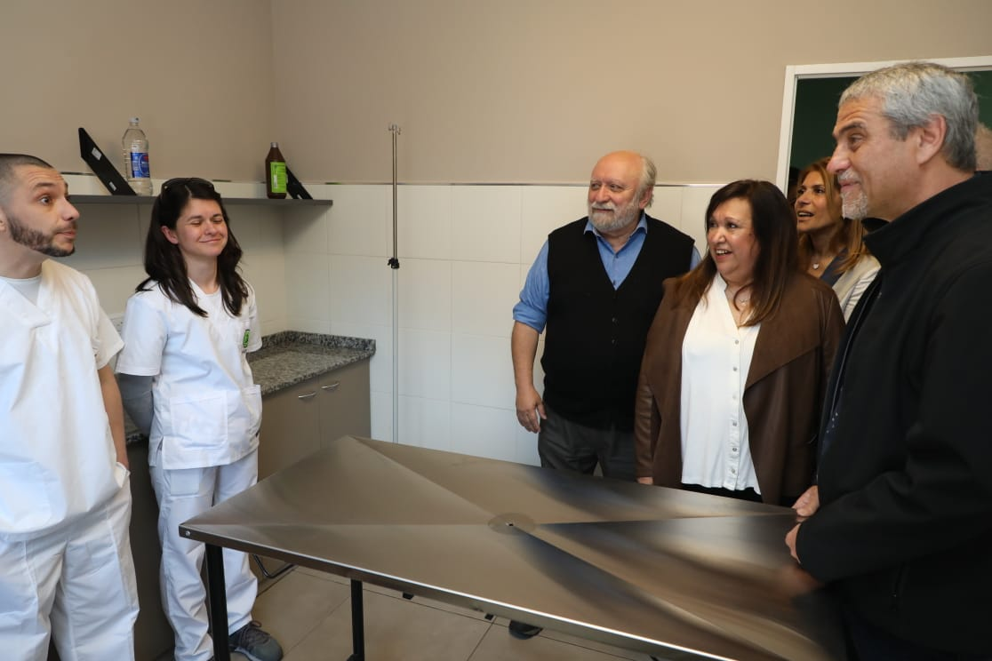 Avellaneda tiene el hospital veterinario municipal más grande del país