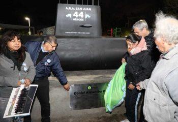 Avellaneda homenajeó a los 44 héroes del ARA San Juan