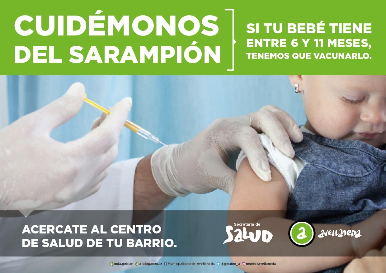 La Comuna comienza una campaña para prevenir el Sarampión