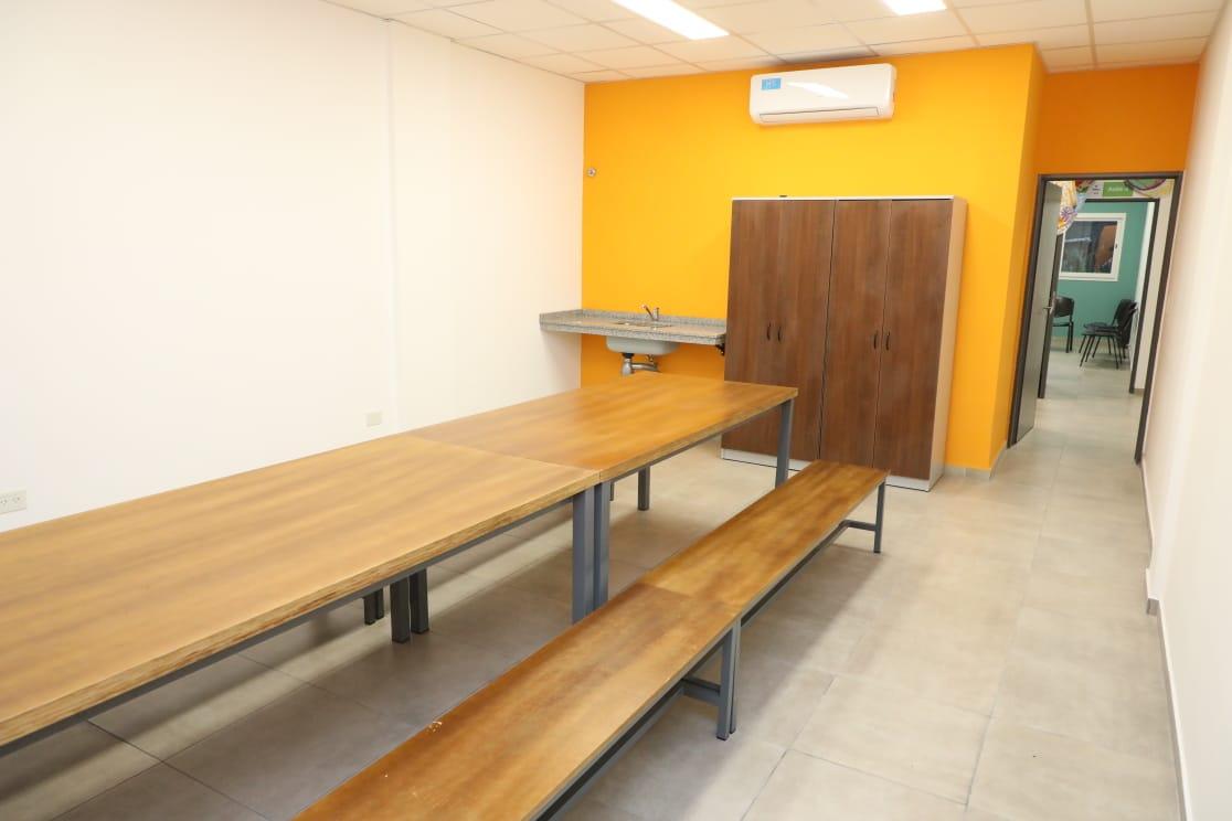 Ferraresi inauguró una sede del IMEPA en Dock Sud