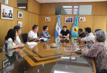 Reunión entre el municipio y educadores populares del estado de San Pablo, Brasil