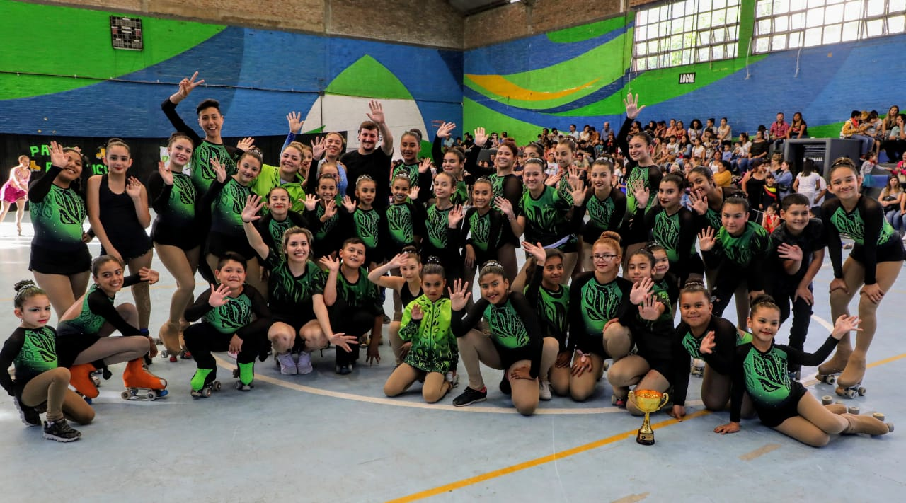 La Liga Municipal de Hockey Femenino y la Escuela Municipal de Patín tuvieron su cierre de año