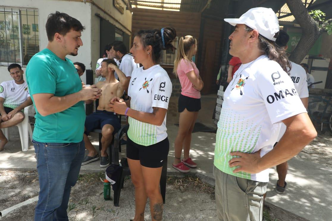 La final del Torneo Nacional de Kayak Polo se disputó en la Escuela de Canotaje de Avellaneda
