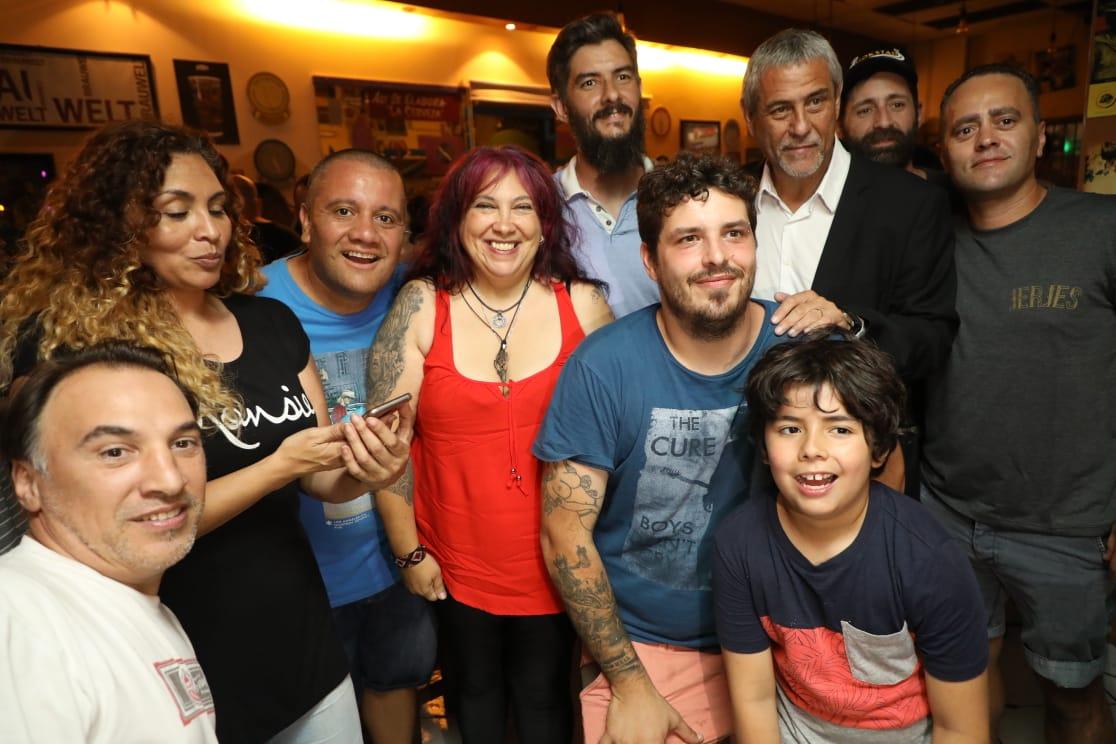 Ferraresi compartió un encuentro con la Cámara de Comerciantes, Productores y Afines de Avellaneda