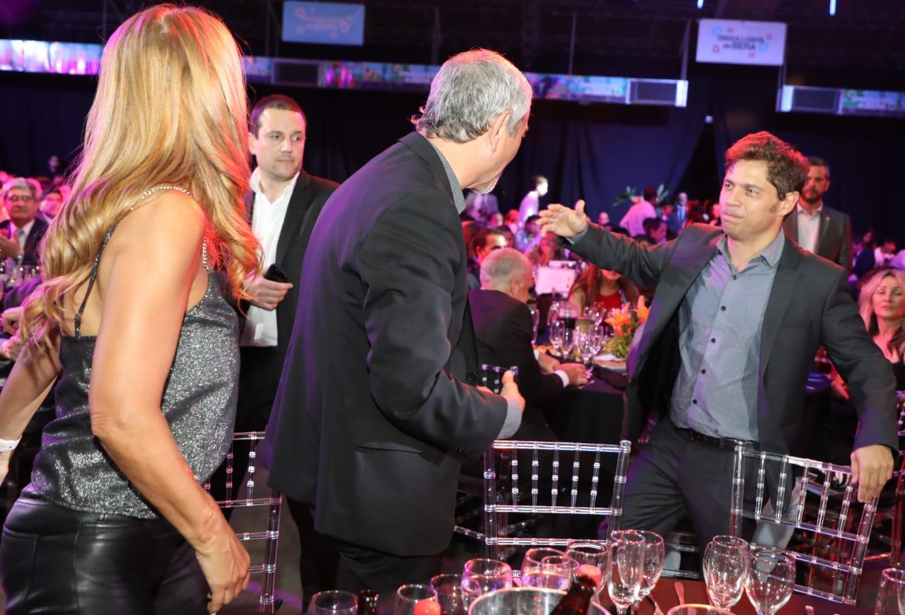 Ferraresi asistió a la gala de los Premios Olimpia 2019