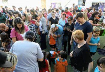 Alejo Chornobroff visitó distintas instituciones de la ciudad durante el fin de semana