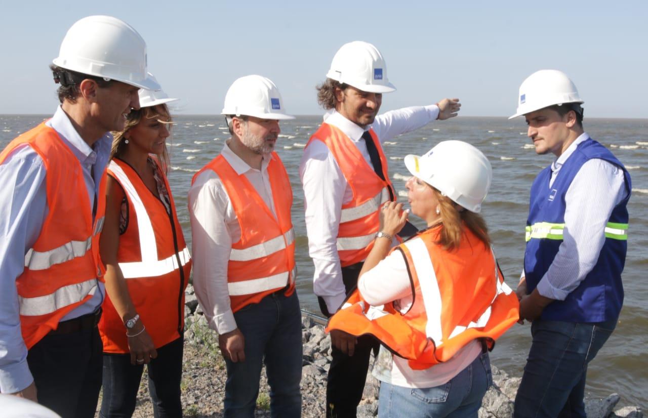 Dock Sud: avanza una obra monumental para el tratamiento de los desagües cloacales de la región