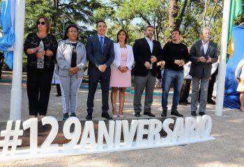 Chornobroff participó de los festejos del aniversario de Florencio Varela