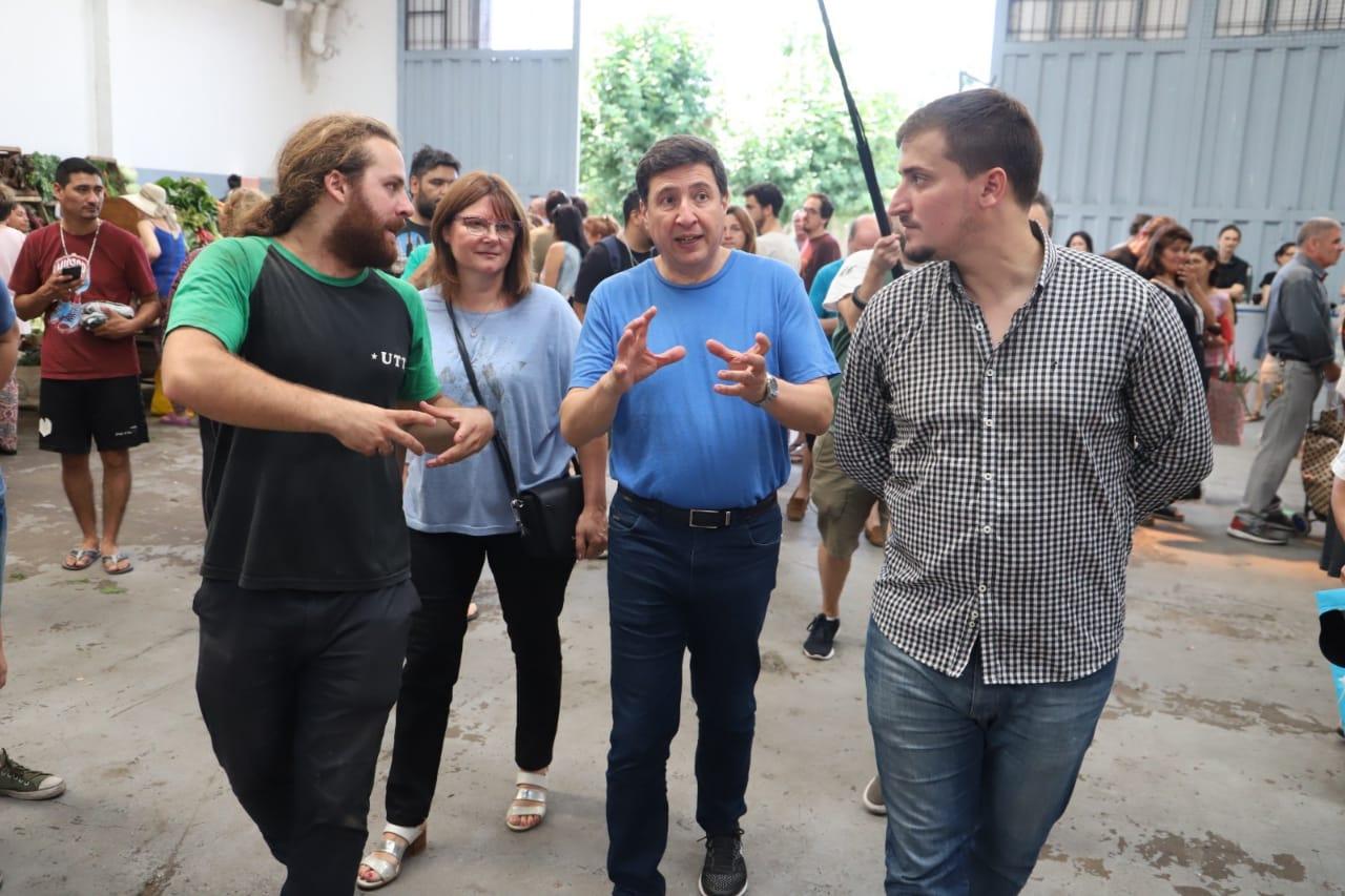 El Ministro Arroyo visitó el Almacén de Ramos Generales de la Unión de Trabajadores de la Tierra