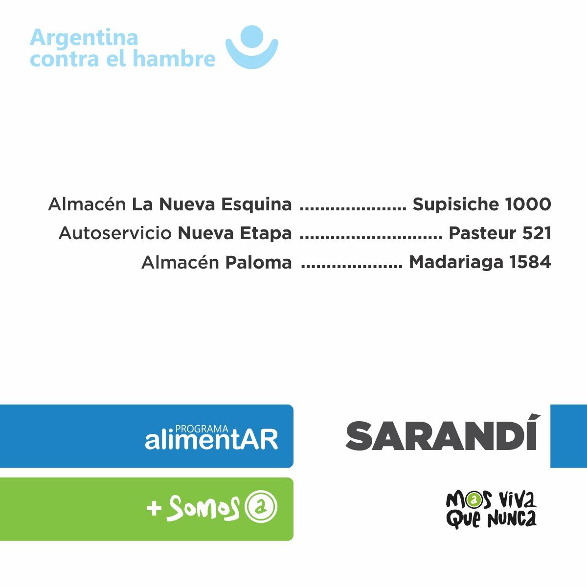 El ministro Arroyo visitó la entrega de tarjetas AlimentAR en Avellaneda