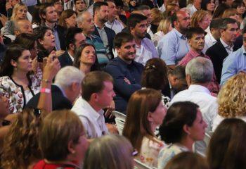 """Chornobroff acompañó al presidente Alberto Fernández y al gobernador Kicillof en la presentación del Plan """"Escuelas a la Obra"""""""