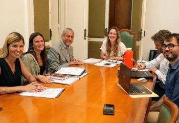 Ferraresi mantuvo un encuentro de trabajo con la responsable provincial de Educación
