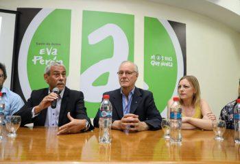 Jorge Ferraresi participó de una mesa de trabajo sobre la prevención de las Infecciones Respiratorias Agudas.