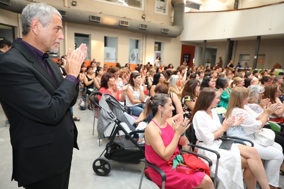 Con la presencia de Jorge Ferraresi, se realizó una jornada de trabajo con la red de Concejalas de la FAM