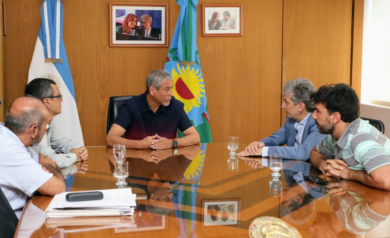 Ferraresi y el Secretario de Control Ambiental de la Nación recorrieron el Eco Punto.