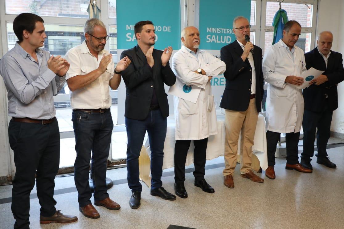 Asumieron los nuevos directores del Hospital de Wilde