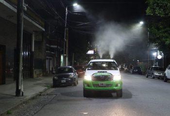 Fumigaciones para prevenir el virus del dengue