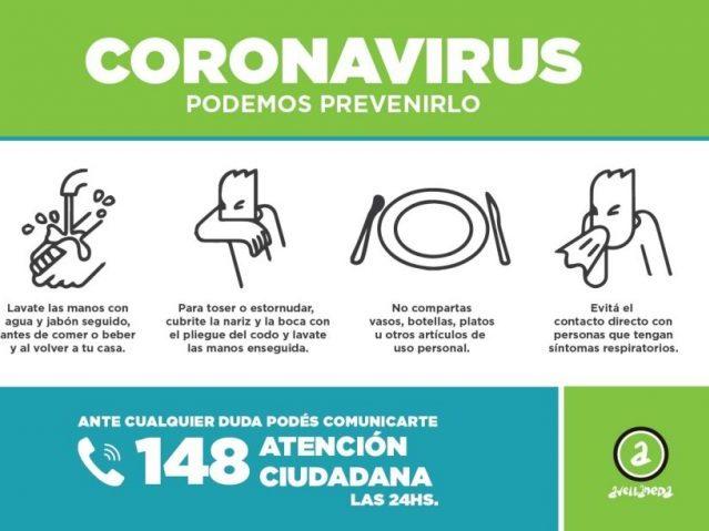 Coronavirus: información importante