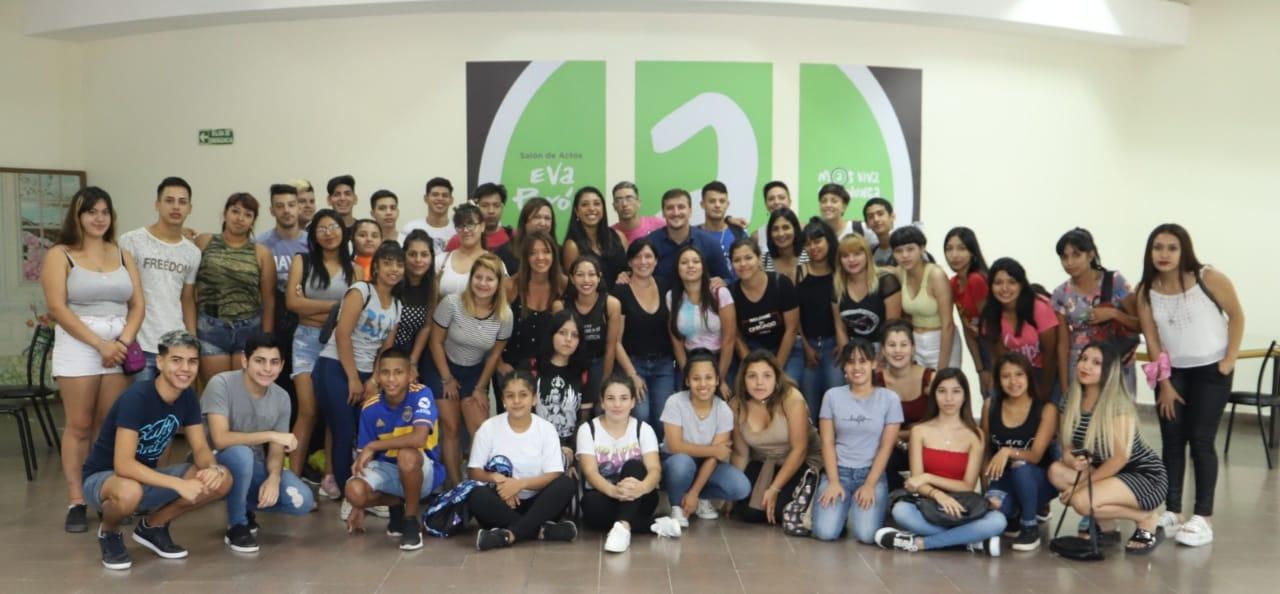 El Municipio y el Programa Envión trabajan en la formación laboral de lxs jóvenes