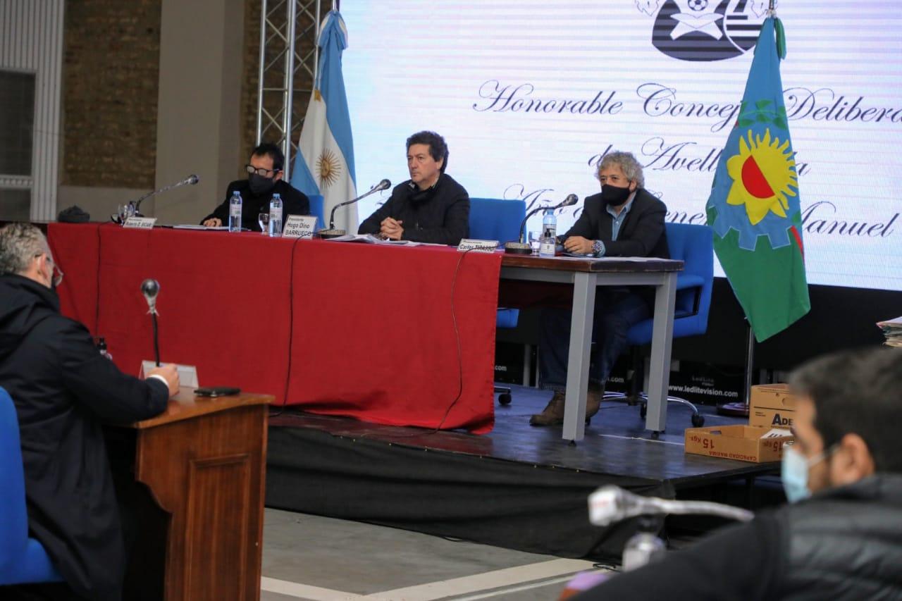 Nueva sesión del Concejo Deliberante de Avellaneda en el Centro Municipal de Arte