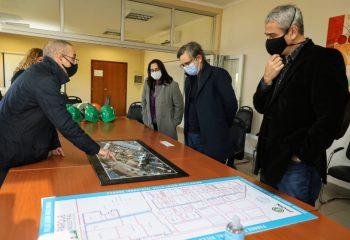 Ferraresi recibió a funcionarios del Ministerio de Desarrollo Productivo