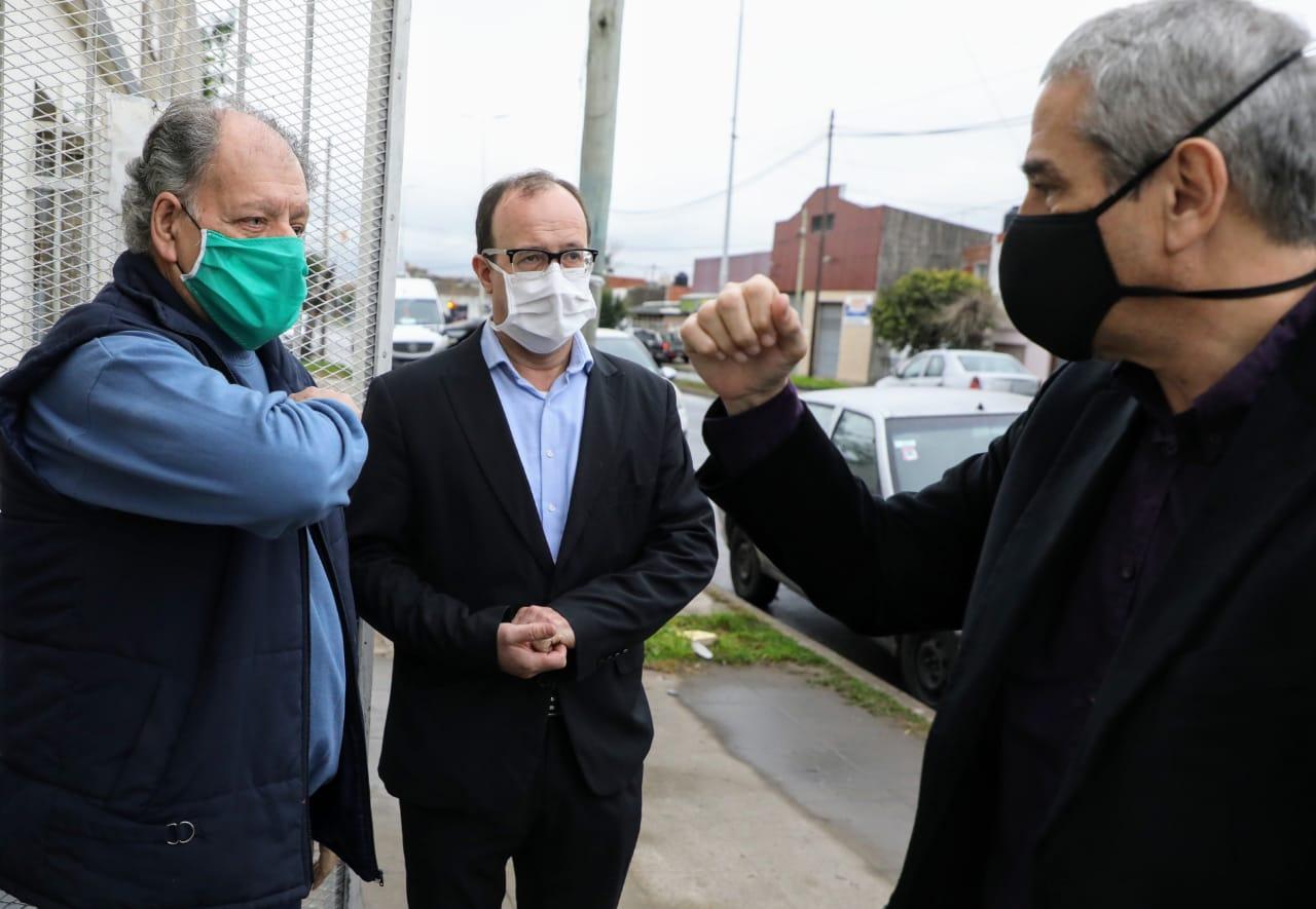 Ferraresi firmó un convenio con PAMI para que centros de jubilados reciban el Subsidio Solidario de Sostenimiento