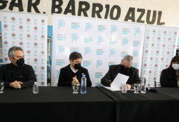 Kicillof y Ferraresi inauguraron un Centro Sanitario y firmaron convenios de mejora del hábitat en Avellaneda