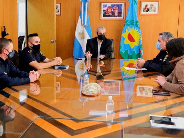 Ferraresi evaluó los resultados positivos del trabajo de las Fuerzas de Seguridad