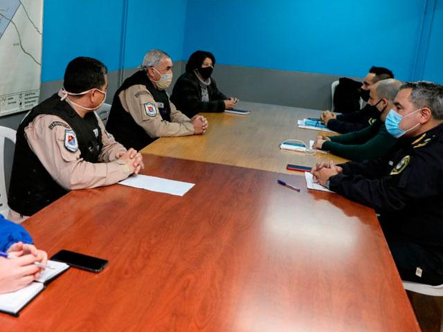 Las Fuerzas Federales refuerzan el trabajo de vigilancia y prevención del delito en Avellaneda