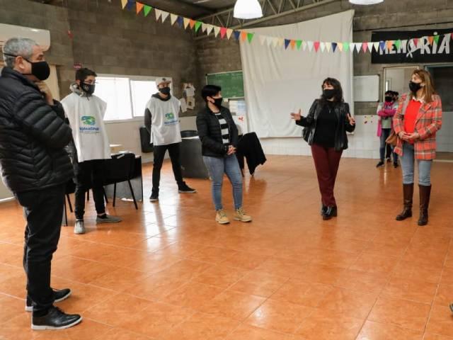Ferraresi recibió a la subsecretaria de Desarrollo Humano, Laura Berardo y visitaron los CIC de San Lorenzo y Santo Domingo