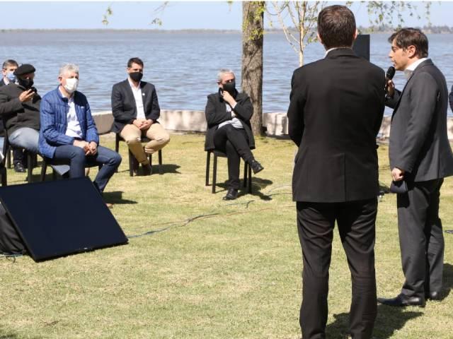 El intendente acompañó a Kicillof en la presentación de un plan de reactivación turística y cultural