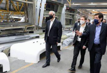 Ferraresi y Augusto Costa participaron del lanzamiento de líneas de créditos destinadas a las PYMES