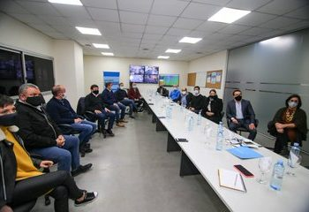 Ferraresi participó de una reunión de intendentes con el ministro Arroyo
