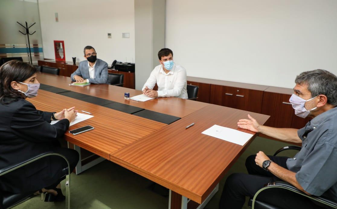 El intendente Chornobroff firmó un convenio de colaboración con el ministro Salvarezza y el CONICET