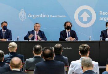Chornobroff acompañó a Alberto Fernández, en la inauguración de 30 obras para 12 provincias