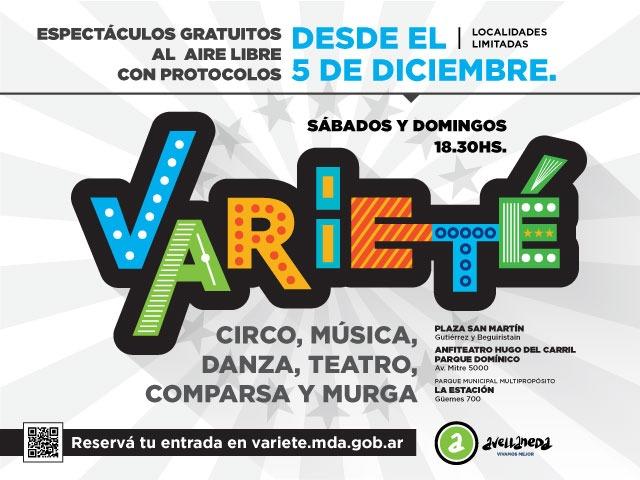 Vuelven los espectáculos al aire libre en Avellaneda