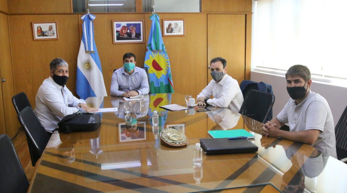 El intendente Chornobroff se reunió con funcionarios nacionales por las tarifas sociales en el servicio de agua y cloacas