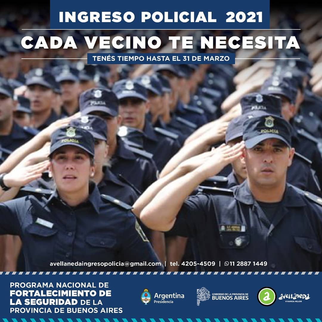 Ingreso policial 2021