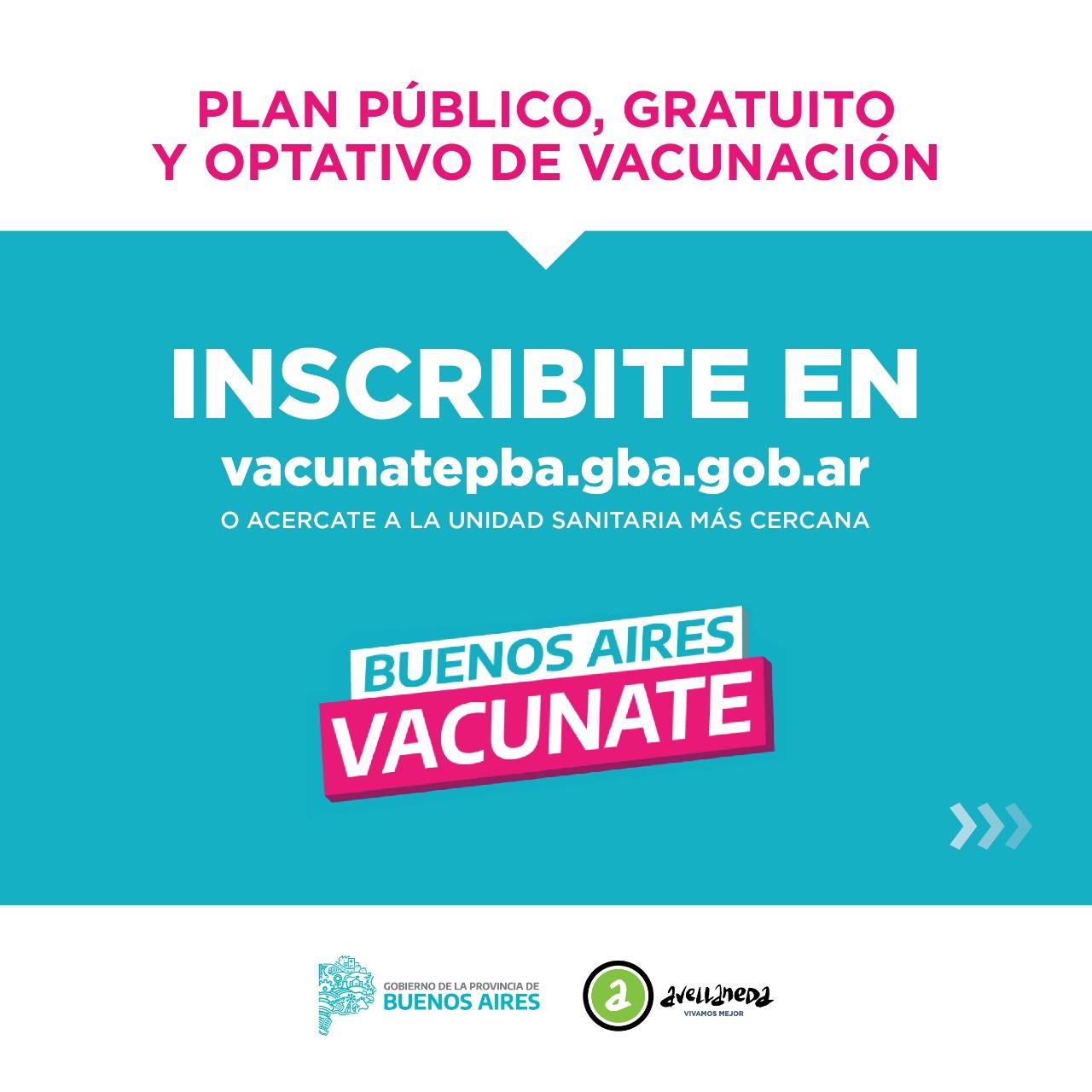 Inscribite para el plan de vacunación contra el coronavirus en la provincia