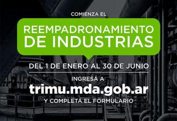 Comienza el reempadronamiento de industrias en Avellaneda