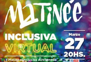 Llega la primera edición del año de la Matinée Inclusiva virtual de Avellaneda