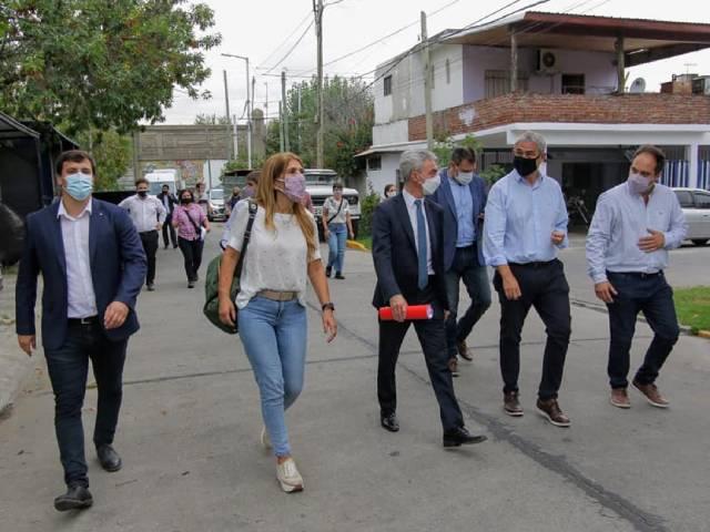El municipio de Avellaneda avanza junto al Gobierno Nacional en un plan de soluciones habitacionales