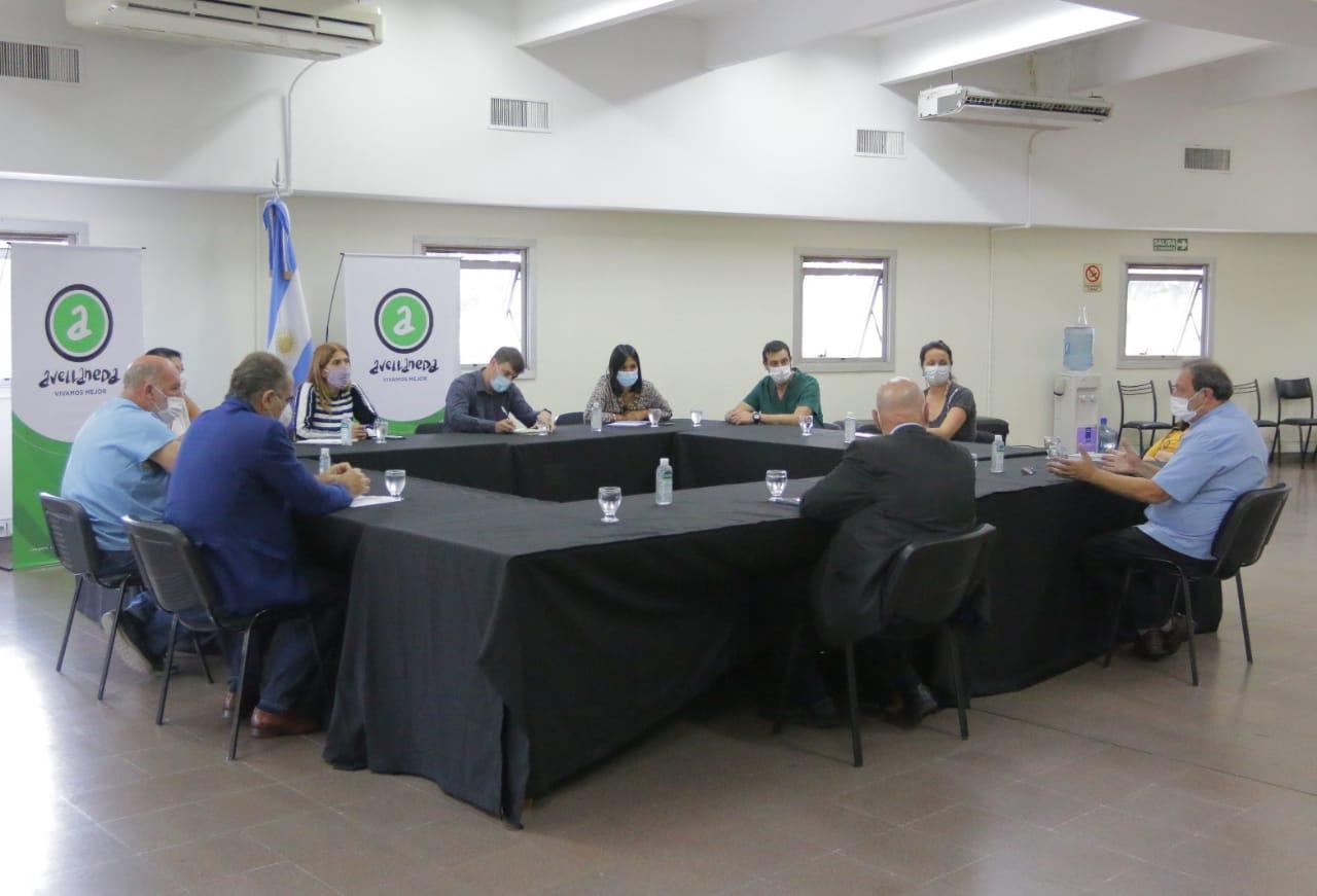 Nueva reunión de la Mesa de Articulación Sanitaria de Avellaneda