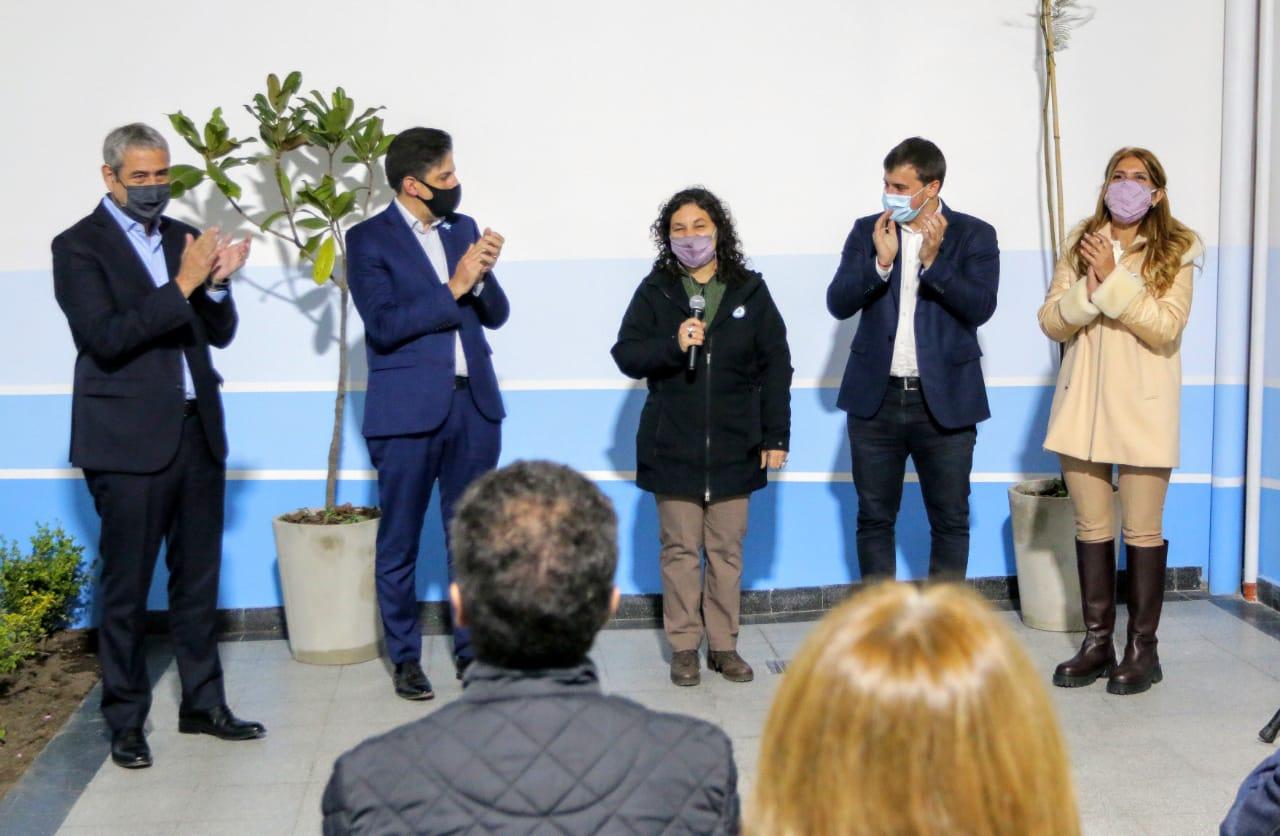 Ferraresi y Trotta inauguraron el edificio para una Escuela de jóvenes y adultos en Avellaneda