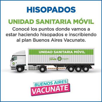 Hisopados - Unidad Sanitaria Móvil