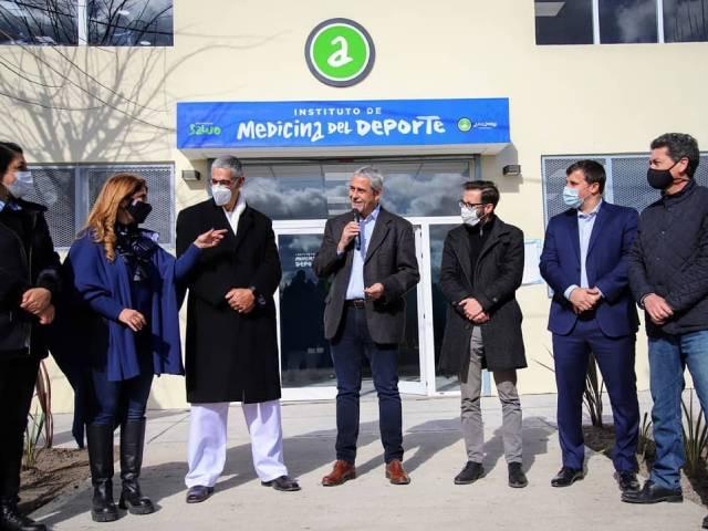 Los ministros Ferraresi y Simone inauguraron la ampliación de la Secretaría de Deportes y la remodelación del Instituto de Medicina del Deporte de Avellaneda