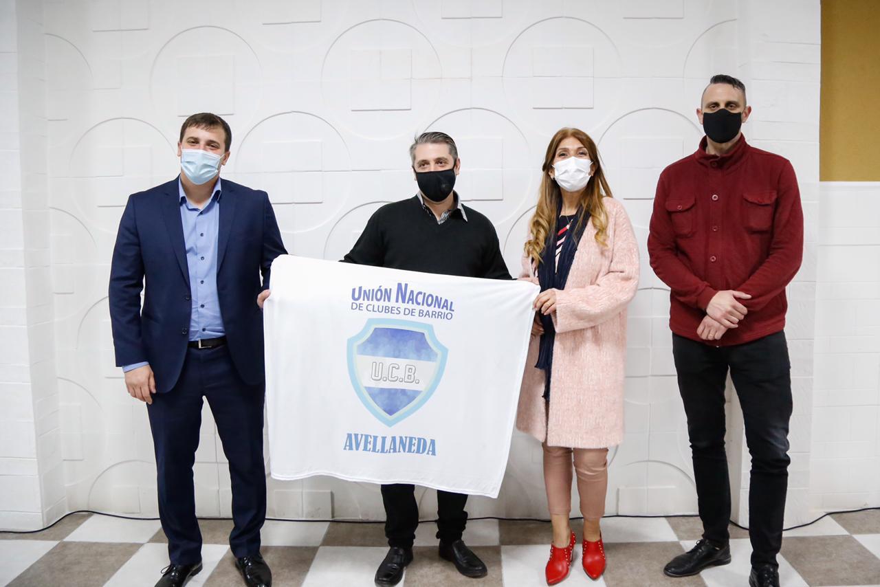 La Municipalidad de Avellaneda inauguró obras en dos clubes de Wilde