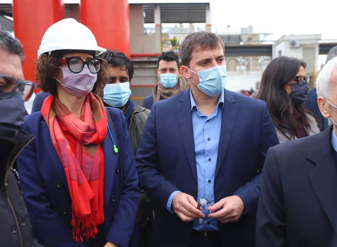"""Ferraresi y Kulfas presentaron el Plan """"Desarrollo Productivo Verde"""", en Avellaneda"""