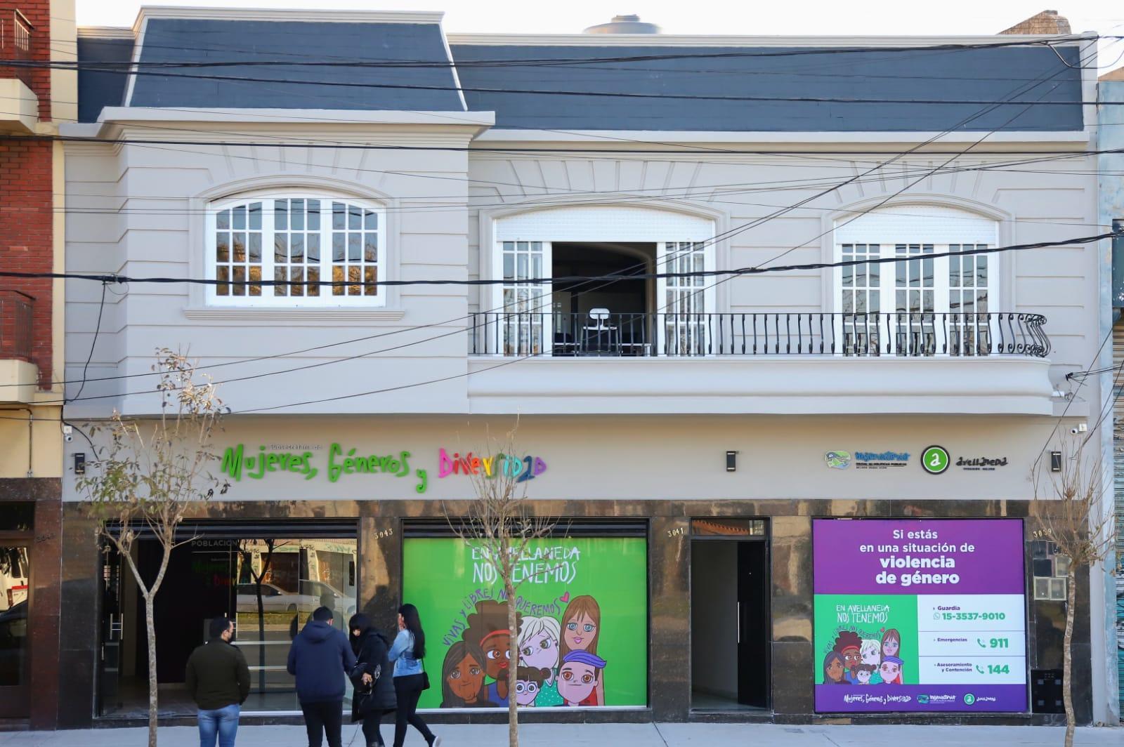 Avellaneda inauguró el nuevo edificio de su Subsecretaría de Mujeres, Género y Diversidad