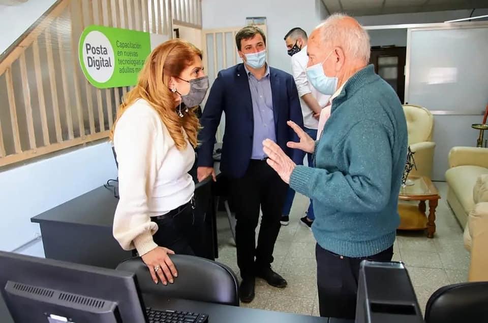 La Municipalidad de Avellaneda inauguró obras en el Centro de Jubilados Sarandí-Domínico